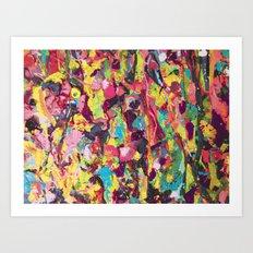Gum Tree Art Print