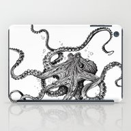 iPad Case featuring Octopus by TAOJB