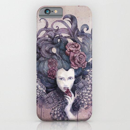 Indigo eyes iPhone & iPod Case