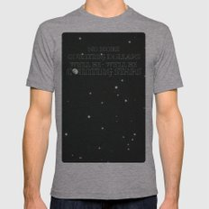 OneRepublic ; Counting Stars Mens Fitted Tee Athletic Grey SMALL