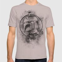 Boba Fett Remix Mens Fitted Tee Cinder SMALL