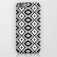 Black And White Mix iPhone 6 Slim Case