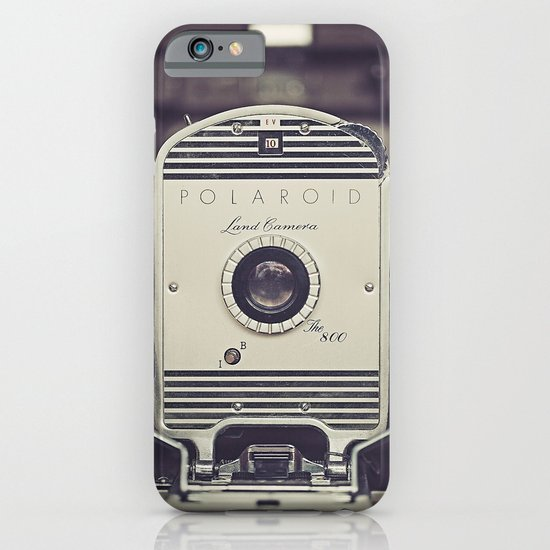 Vintage Polaroid Land Camera The 800 iPhone & iPod Case