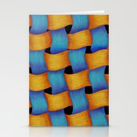 Woven - Pattern Painting Stationery Cards