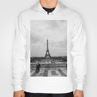 Paris Skyline  Hoody