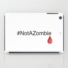 #NotAZombie iPad Case
