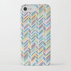 Herringbone Colour iPhone 7 Slim Case
