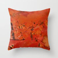 Misty outsider Throw Pillow