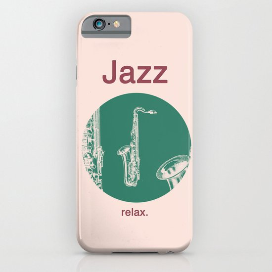 Jazz Relax and play sax iPhone & iPod Case