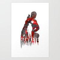 Hawkeye Print Art Print
