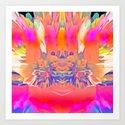 12-48-42 (Cruisin Glitch) Art Print