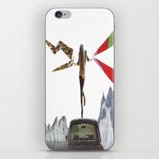 lady lightning iPhone & iPod Skin