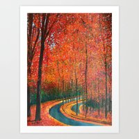 Beautiful Colors Of Autu… Art Print