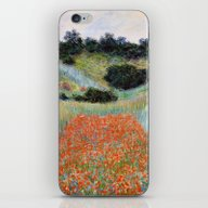 Poppy Field In A Hollow … iPhone & iPod Skin