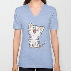 Cat Unisex V-Neck