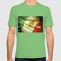 Flag Of Mexico Mens Fitted Tee Grass SMALL