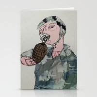 This Is War By Debbie Po… Stationery Cards