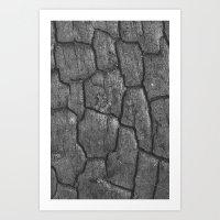 Charred Art Print