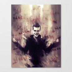 Jerome Valeska - Gotham Canvas Print