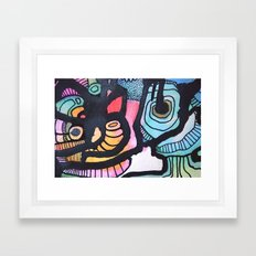 Staring into you Framed Art Print