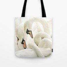 white beauties Tote Bag