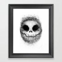 Bone Daddy Aka Jack Framed Art Print