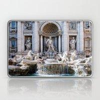 Trevi Fountain Laptop & iPad Skin