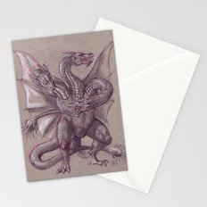 Monster Zero Stationery Cards