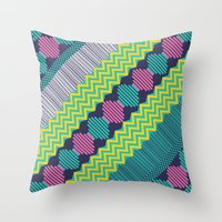 Knitted 2 Throw Pillow