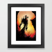 Shadow Warrior  Framed Art Print