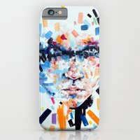 iPhone & iPod Case featuring She slowly crumbles by KlarEm