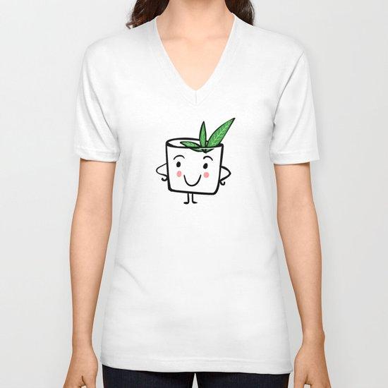 Mint Julep V-neck T-shirt