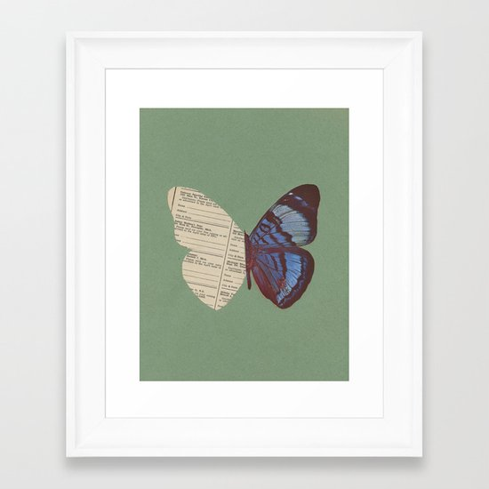 Winging 2 Framed Art Print