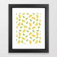 Citrus Sours Framed Art Print