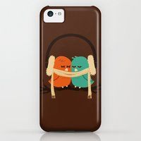 iPhone 5c Cases featuring Baby It's Cold Outside by Budi Kwan