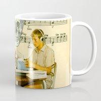 Death Accordion Mug