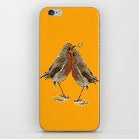 Cute Birds iPhone & iPod Skin