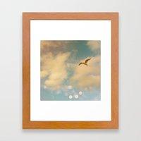 The Lost Gull Framed Art Print
