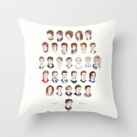 Throw Pillow featuring Time May Change Me II by Helen Green