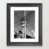 We're All Connected Framed Art Print