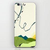 Wind Blown iPhone & iPod Skin