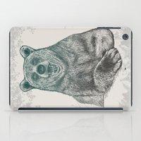 Bear Portrait iPad Case