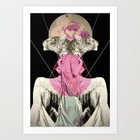 La Tigre Art Print