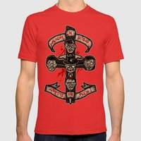 Appetite For Flesh Mens Fitted Tee Red SMALL