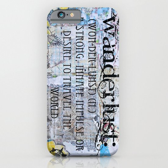 Wanderlust iPhone & iPod Case