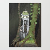Temple Of The Gatekeeper Canvas Print