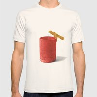 Rescue Mens Fitted Tee Natural SMALL