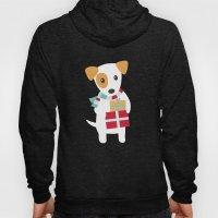 Cute Christmas Dog Holdi… Hoody