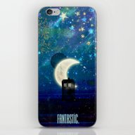 iPhone & iPod Skin featuring Doctor Who - Fantastic by Heather Spriggs