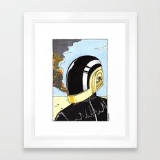 Derezzed Framed Art Print